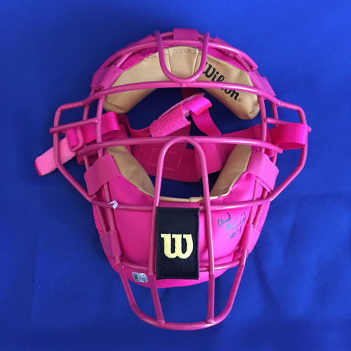 Photo of UMPS CARE AUCTION: 2016 Umpire Signed Mother's Day Umpire Mask