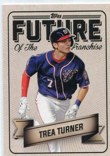 Photo of 2016 Topps Bunt Future of the Franchise #FF4 Trea Turner -- Nationals post-season
