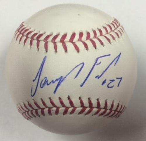 Photo of Jeurys Familia Autographed Baseball