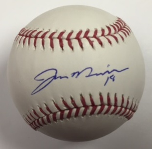 Photo of Jonathon Niese Autographed Baseball