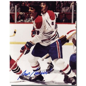 Serge Savard Autographed Montreal Canadians 8x10 Photo