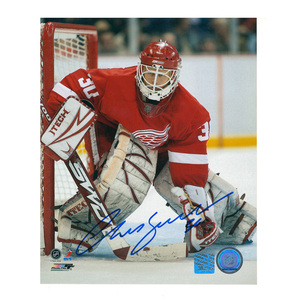 CHRIS OSGOOD Signed Detroit Red Wings 8 X 10 Photo - 70349