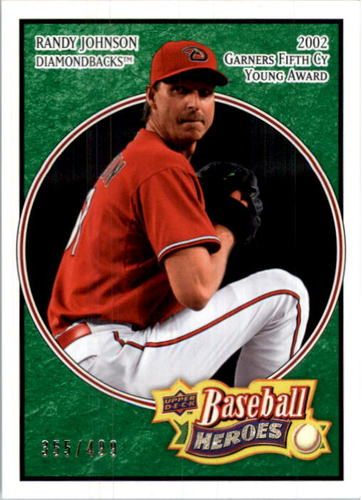 Photo of 2008 Upper Deck Heroes Emerald #5 Randy Johnson