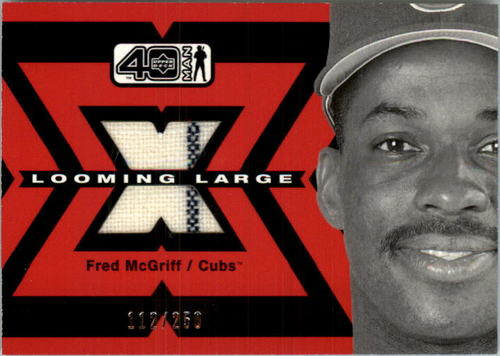 Photo of 2002 Upper Deck 40-Man Looming Large Jerseys #LFM Fred McGriff