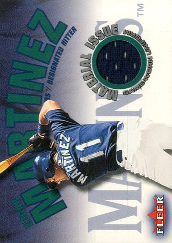 Photo of 2001 Fleer Genuine Material Issue #EM Edgar Martinez SP *