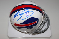 BILLS - SAMMY WATKINS SIGNED BILLS MINI HELMET