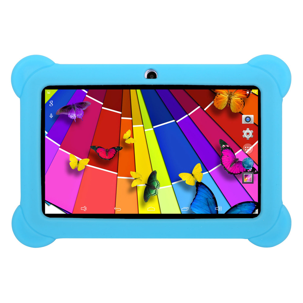 KOCASO DX758 7-Inch Quad-Core Android Kids Tablet - Blue