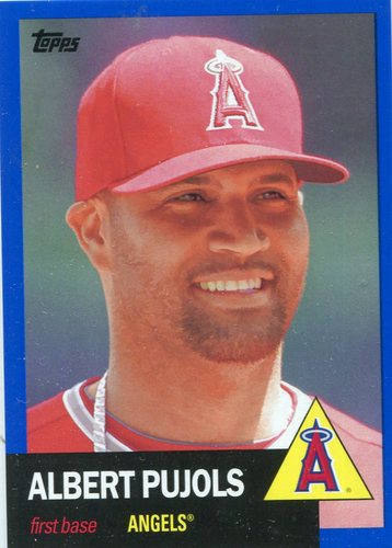 Photo of 2016 Topps Archives Blue #1 Albert Pujols