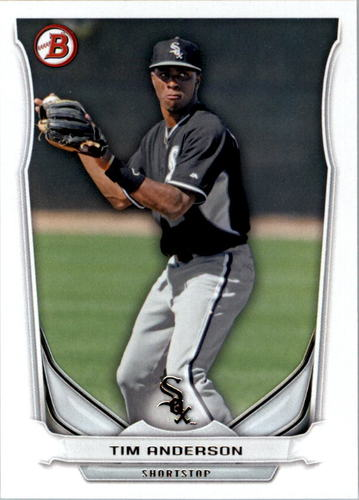 Photo of 2014 Bowman Draft Top Prospects #TP47 Tim Anderson