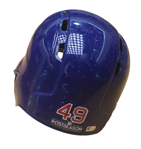 Photo of Jake Arrieta 2017 Postseason Batting Helmet