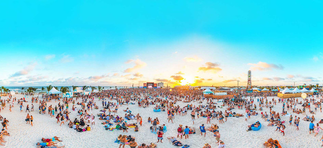 HANGOUT MUSIC FESTIVAL VIP TICKETS - PACKAGE 1 of 3