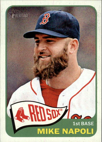 Photo of 2014 Topps Heritage #244 Mike Napoli