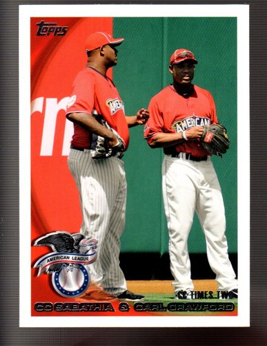 Photo of 2010 Topps Update #US158 CC Sabathia/Carl Crawford