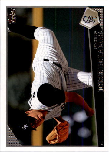 Photo of 2009 Topps #588 Jorge De La Rosa