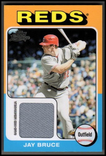 Photo of 2011 Topps Lineage 1975 Mini Relics #JB Jay Bruce