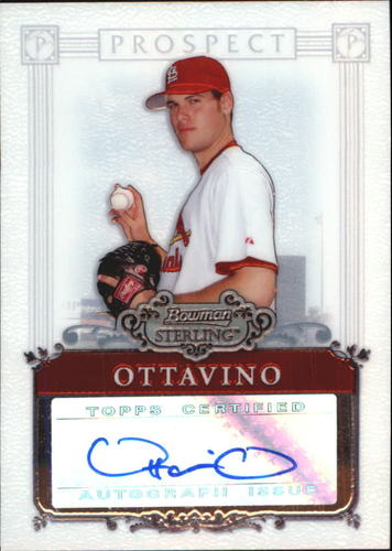 Photo of 2006 Bowman Sterling Prospects #AO Adam Ottovino AU A