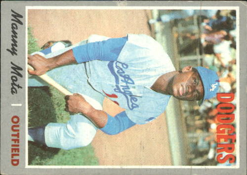 Photo of 1970 Topps #157 Manny Mota