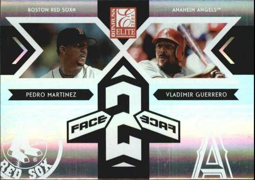 Photo of 2005 Donruss Elite Face 2 Face #8 P.Martinez/V.Guerrero