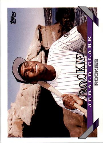 Photo of 1993 Topps #565 Jerald Clark