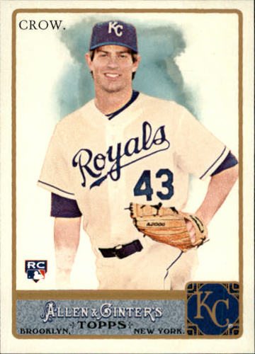 Photo of 2011 Topps Allen and Ginter #177 Aaron Crow RC