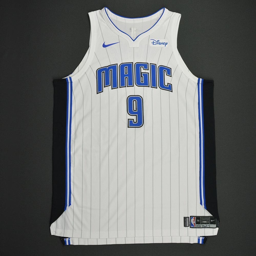 Nikola Vucevic - Orlando Magic - Kia NBA Tip-Off 2017 - Game-Worn Jersey - Double-Double