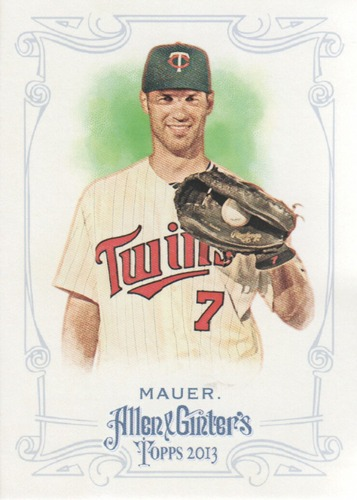 Photo of 2013 Topps Allen and Ginter #128 Joe Mauer