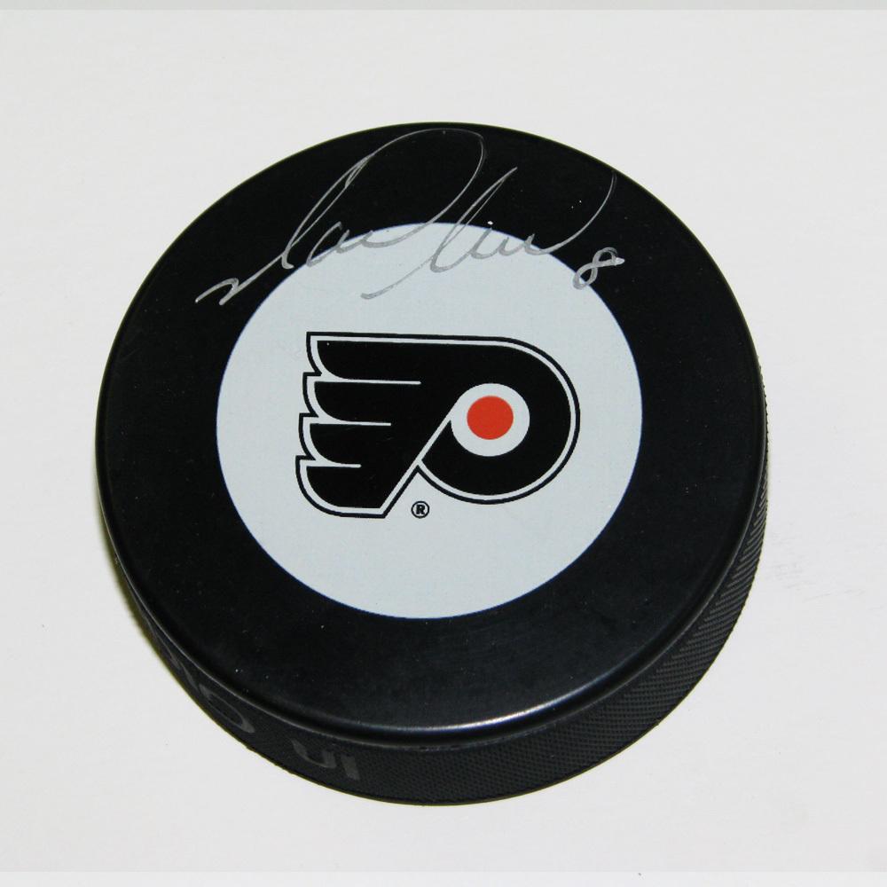 MARK RECCHI Signed Philadelphia Flyers Puck