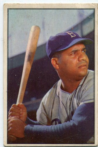 Photo of 1953 Bowman Color #46 Roy Campanella -- Dodgers Hall of Famer