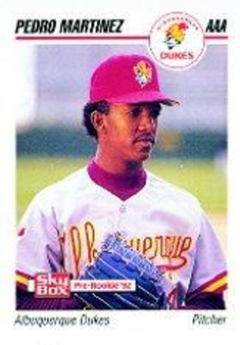 Photo of 1992 Albuquerque Dukes SkyBox #13 Pedro Martinez