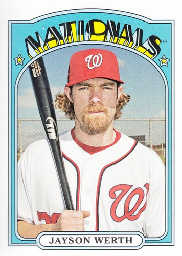 Photo of 2013 Topps Archives #26 Jayson Werth -- Nationals post-season