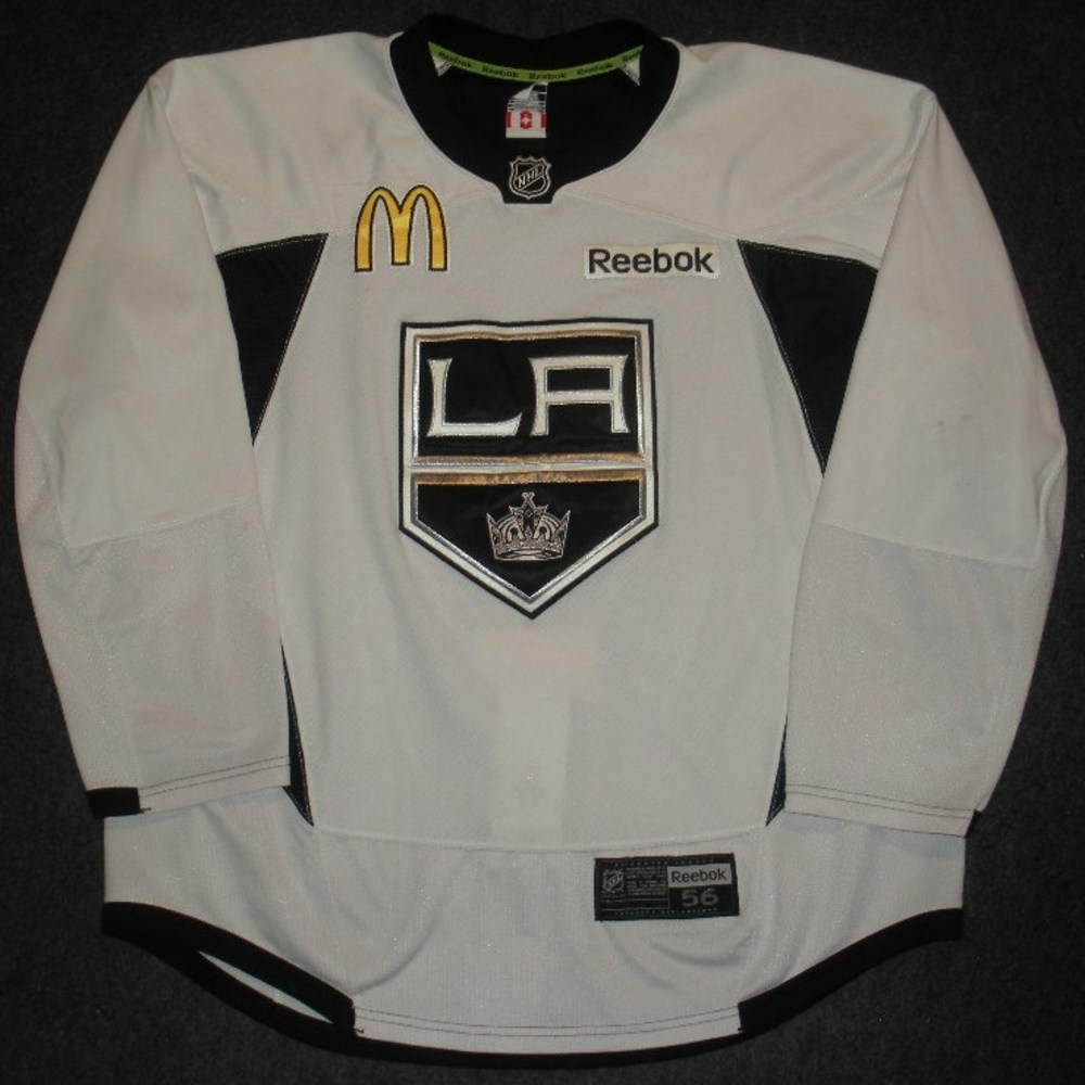 Jeff Carter - 2014 Stanley Cup Final - Los Angeles Kings - Practice-Worn Jersey
