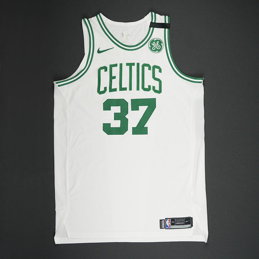 Semi Ojeleye - Boston Celtics - 2018 NBA Playoffs Game-Worn Jersey