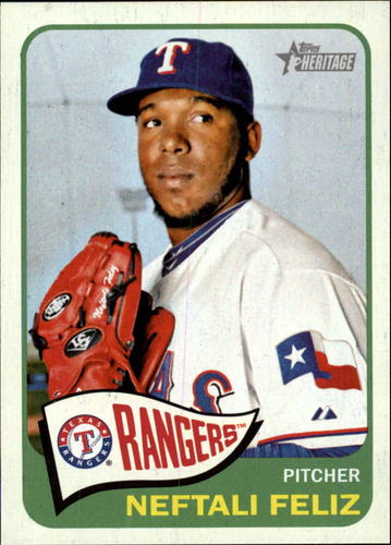 Photo of 2014 Topps Heritage #245 Neftali Feliz
