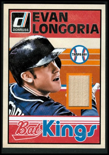 Photo of 2014 Donruss Bat Kings #42 Evan Longoria