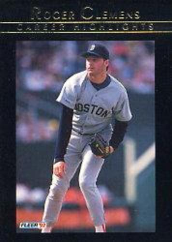Photo of 1992 Fleer Clemens #7 Roger Clemens/Play It Again Roger
