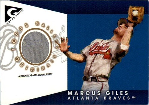 Photo of 2005 Topps Gallery Originals Relics #MG Marcus Giles Jsy