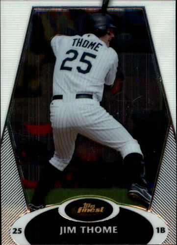 Photo of 2008 Finest #77 Jim Thome