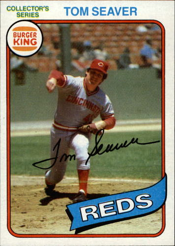 Photo of 1980 Burger King Pitch/Hit/Run #10 Tom Seaver