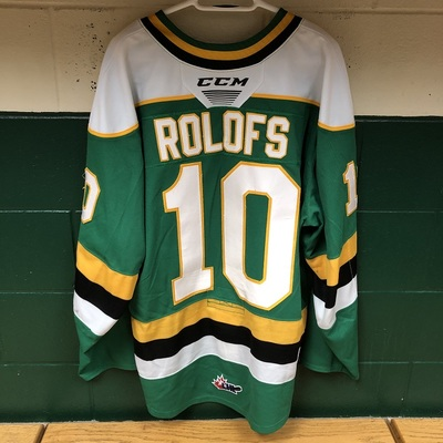 Stuart Rolofs 2019-2020 Green Game Jersey