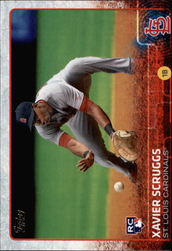 Photo of 2015 Topps #694 Xavier Scruggs RC