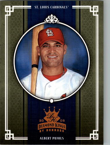Photo of 2005 Diamond Kings Bronze #214 Albert Pujols