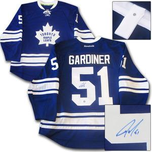 Jake Gardiner Autographed Toronto Maple Leafs Authentic Pro Jersey