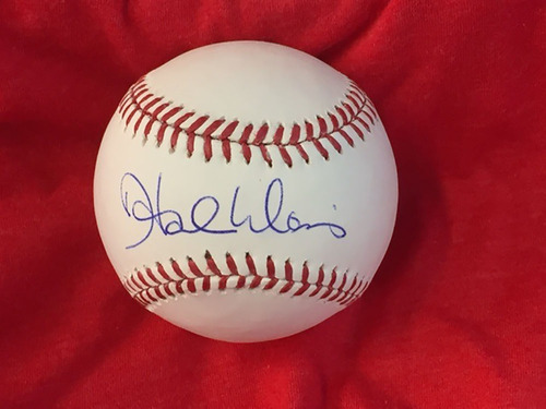 Photo of Hal Morris Autographed Baseball