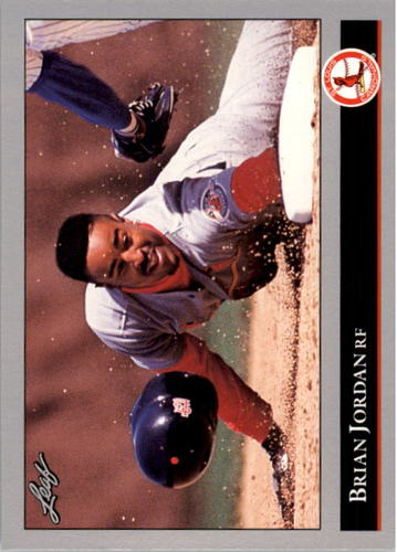Photo of 1992 Leaf #337 Brian Jordan RC