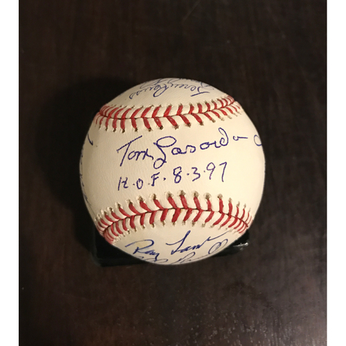 Photo of LA Dodgers Foundation Auction: LA Dodgers 70s Legends Autographed Baseball