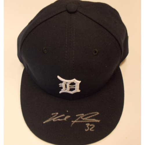 Autographed Game-Used Michael Fulmer Cap