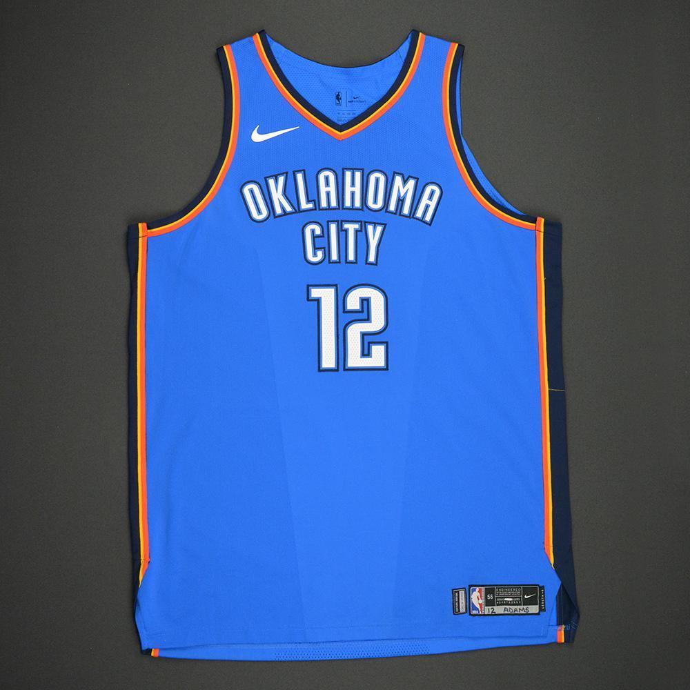 Steven Adams - Oklahoma City Thunder - Kia NBA Tip-Off 2017 - Game-Worn Jersey