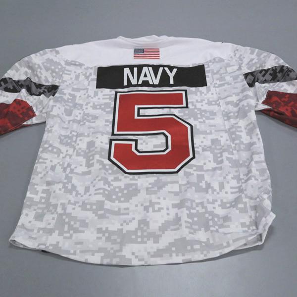 Ohio State Ice Hockey Military Appreciation Jersey #5