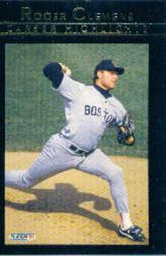 Photo of 1992 Fleer Clemens #8 Roger Clemens/Business As Usual