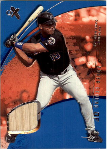 Photo of 2002 E-X Essential Credentials Future #11 Roger Cedeno Bat/50